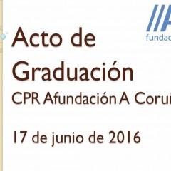 Celebración Acto de Graduación del Curso 2015-2016